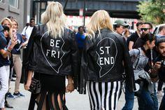Fashionistas apostam em produções divertidas e cheias de estilo para o off-catwalk da temporada