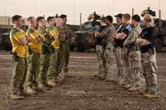 The Rugby World Cup Final Between Australia and New Zealand Will Not Go Unmissed Even by Their Servicemen and Women Currently Deployed In Iraq [1800x1200]