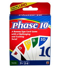 New Sealed Uno Blink Phase 10 Set Timeline Wizard Choose Your Family Game