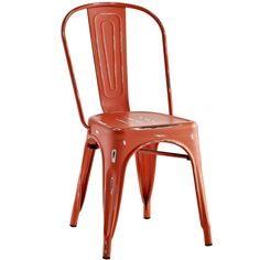 Promenade Side Chair Red