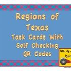 Included+in+this+FREE+product+are: 16+open+ended+task+cards+to+help+students+practice+their+knowledge+of+Texas+regions,+each+with+a+QR+code+to+chec...
