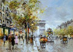L'Arc de Triomphe - Antoine Blanchard