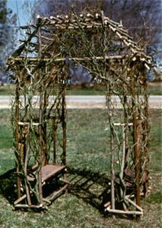 Jami Driftwood And Willow Twig Furniture Nancy Bryson