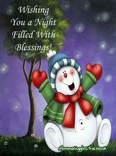 Wishing You A Night Filled With Blessings