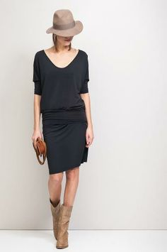 COMFORT  - tunic with seperate waistband