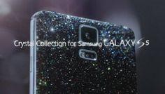 """Si de glamour y moda se trata, Samsung sabe como hacerlo al lanzar otra versión de su más reciente modelo S5 , ahora como """"Crystal Collection"""", que es una edición del popular smartphone con una cubierta de piedras Swarovski. Esto para todos los amantes de la famosa marca de joyería y que además aman lo """"fashion"""" en su gadget favorito. Al parecer estará disponible en Mayo por el momento sólo en Corea. Compartió #miguelbaigts #guru"""