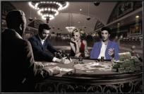 Royal Flush Chris Consani Marilyn Monroe Elvis Presley  James Dean Humphrey Bogart Poster 36x24