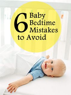 Baby bedtime mistakes to avoid: Most babies are ready to sleep through the night by 3 to 4 months -- if their parents let them. Learn how these common mom-and-dad errors can turn your baby into a poor sleeper. Baby Bedtime, Baby Sleep, Baby Kind, Our Baby, Baby Boy, Baby Development, Baby Health, Kids And Parenting, Parenting Quotes