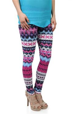 Deb Shops #tribal #leggings
