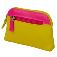 Large Neon Coin Purse - yellow - fantastic Chrissy ideas