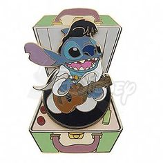 DISNEY PINS STITCH as Elvis Spinner LE 250