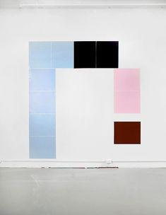 Ian Pedigo: Misleading Answers Reinforce , 2009 Lighting gels 9 x 8 ft