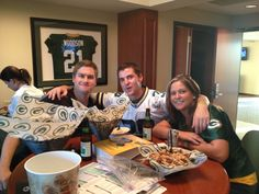 """KI customers love visiting us in Green Bay during the fall. Why? Because they get to experience a #Packers gameday outing like no other - complete with tailgating, shenanigans and one """"suite"""" experience. Share your photos with the #KIredzone hashtag!"""