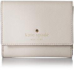 Amazon.com: Kate Spade New York Cedar Street Tavy Wallet Crisp Linen: Clothing