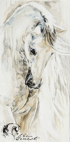 horse galop abstract watercolor - Google Search