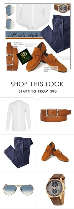 """""""Paul Parkman"""" by monmondefou ❤ liked on Polyvore featuring Yves Saint Laurent, Ray-Ban, menswear and paulparkman"""