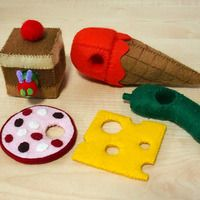 Felt Patterns - The Very Hungry Caterpillar Set (Patterns and Tutorials via Email) - Thumbnail 2