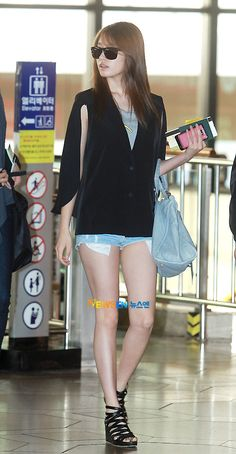 T-ARA jiyeon #airportfashion