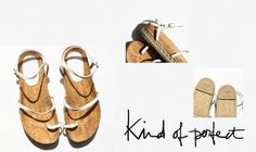 Kind of Perfect… - On the heavy sole front, I loooooove these Chanel sandals - their fine leather straps give them a perfect lightness.