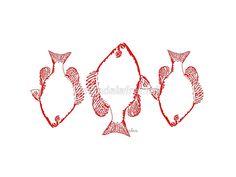 3 Red Fish 4C