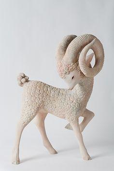 Aries ♈ Fire .. Yoshimasa Tsuchiya #sculpture