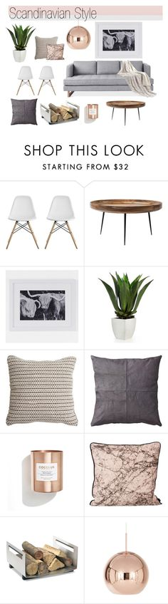 """""""Scandinavian Syle Mood Board"""" by greenvalleynest ❤ liked on Polyvore featuring interior, interiors, interior design, home, home decor, interior decorating, Dorel, mater, West Elm and Nana'"""