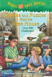 Magic Tree House (R) Ser.: Games and Puzzles from the Tree House : Magic Tree House by Mary Pope Osborne and Natalie Pope Boyce (Digest Paperback, Activity Book) for sale online Magic House, House Games, Book Annotation, Magic Treehouse, Reading Levels, Chapter Books, Used Books, Book Activities, Book Series