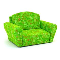 Kidz World Furniture Circles - Chartreuse_Maggie Sleepover Sofa - KWF-1850-1-CCM. Kidz World Furniture Circles - Chartreuse_Maggie Sleepover Sofa - KWF-1850-1-CCM This versatile Sleep_Sofa is not to be confused with the competitions foam furniture. Rather, this sofa is constructed using a mixed har.. . See More Sleepover Sofas at http://www.ourgreatshop.com/Sleepover-Sofas-C1001.aspx