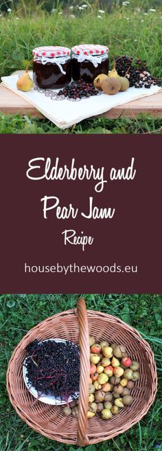 Elderberry and Pear Jam Recipe