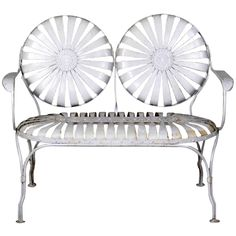 Antique and Vintage Patio and Garden Furniture - For Sale at Vintage Outdoor Furniture, Modern Garden Furniture, Vintage Bench, Vintage Farm, Iron Furniture, Bench Furniture, Accent Furniture, Office Furniture, Modern Patio
