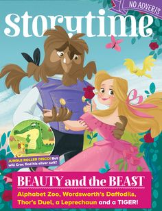 Storytime Issue 31 is out now! A Beauty and the Beast special :-) ~ STORYTIMEMAGAZINE.COM