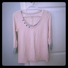 NWOT 3/4 sleeve shirt Super soft size M Maison jules 3/4 sleeve shirt Maison Jules Tops Tees - Long Sleeve