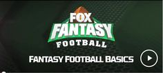 FOX Sports Fantasy Football - Sign Up to Play Fantasy Football