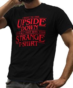 Stranger Things Upside Down T-Shirt - LeRage Shirts MEN'S Black Small (SIDE NOTE: ALSO ON DADS XMAS LIST)