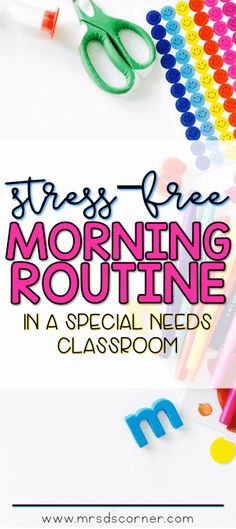 Morning Routine for the Self-Contained Classroom – Mrs. D's Corner Morning meeting and morning calendar work routine in special ed Classroom Morning Routine, Classroom Schedule, Preschool Schedule, Life Skills Classroom, Classroom Calendar, Classroom Routines, School Calendar, Classroom Jobs, Autism Classroom