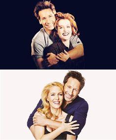 Gillian & David after all these years  como has pasado los años!!!! :) los sigo adorandooooooo