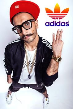 Ranveer Singh #RanveerSingh #ADIDAS #PhotoShoot #FASHION #STYLE #SEXY #BOLLYWOOD #INDIA