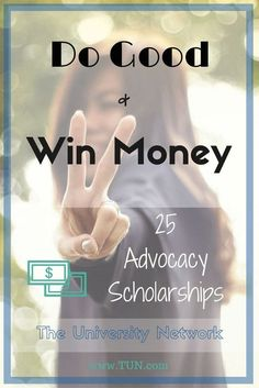 25 Scholarships That Reward You for Making the World a Better Place | The University Network