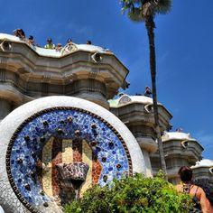 Park Guell by Paula Bryce #barcelona #gaudi