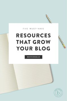 5 tools and resource