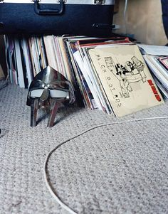 DOOM loves vinyl! #records #ilovevinyl #hiphop