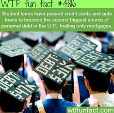 Student loans WTF fun facts - Your Finance Assistant 2019 Wtf Fun Facts, Funny Facts, Random Facts, The More You Know, Did You Know, Best Student Loans, Interesting Information, Social Issues, History Facts