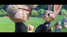 Zootopia 2016, Disney Fun Facts, Judy Hopps, Disney Pixar, Mammals, Garden Sculpture, Rabbit, Elephant, Animation