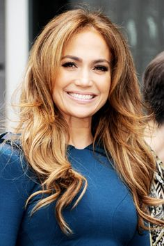 highlights hair color and curls on pinterest