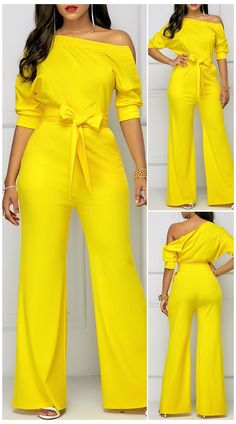 Classy Dress, Classy Outfits, Look Fashion, Fashion Outfits, Spring Fashion, Cheap Fashion, Fashion Women, Fashion Online, African Print Jumpsuit