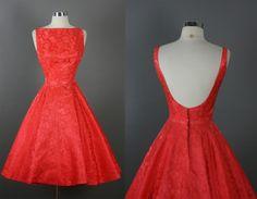 Vintage 50s Elegant Jay Herbert Cocktail Party Dress S | eBay