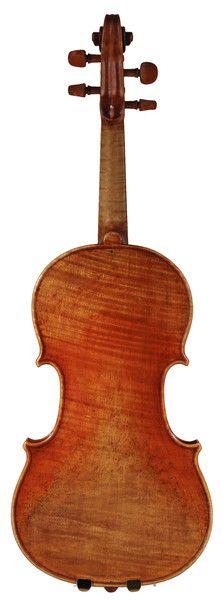 Newly varnished!  Violin by Orest Nakonechny, 2012