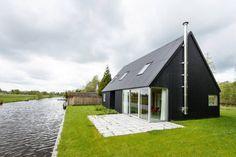 Casas campestres por Kwint architecten