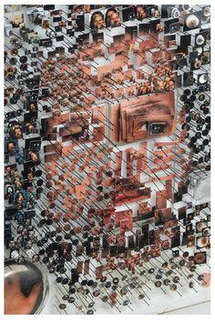Today's Inspiration: Michael Mapes - Specimen No: A Level Photography, Art Photography, Collage 3d, Instalation Art, Art Alevel, Gcse Art Sketchbook, 3d Studio, Photocollage, Identity Art