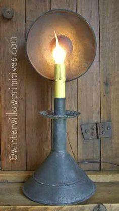 I would love to try to MAKE something like this!! :-D  ---Vicksburg Lamp